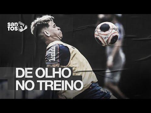 SANTOS TREINA COM FOCO NO BOTAFOGO-SP | DE OLHO NO TREINO (05/02/20)
