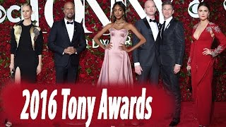 All the Red Carpet Highlights From the 2016 Tony Awards  | Style Celebrity