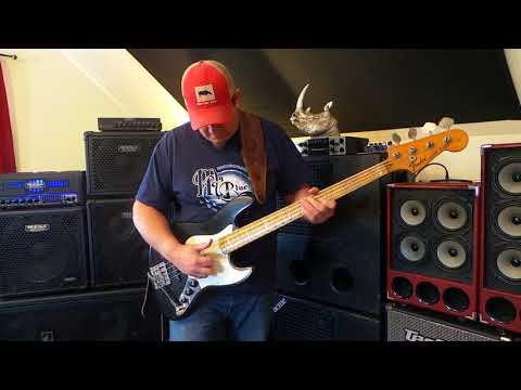 1975 Jazz Bass - Nordstrand NJ4SV noiseless pickups - Andy Irvine