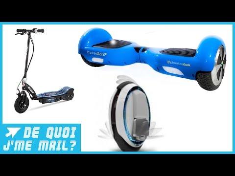 Hoverboard, trottinette, roue électrique : comment choisir ? DQJMM (2/3)