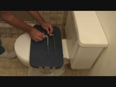 How To Replace A Toilet Handle Removing The Toilet Handle