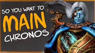 So You Want to Main Chronos | Builds | Counters | Combos & More! (Chronos SMITE Guide)