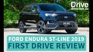 Ford Endura ST-Line 2019 First Drive Review | Drive.com.au