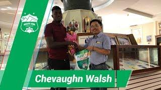 Tiền đạo ngoại binh Jamaica chính thức ký hợp đồng với HAGL | HAGL Media
