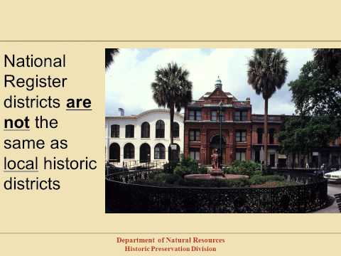 The National Register of Historic Places in Georgia