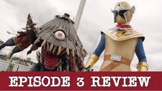 Power Rangers Super Ninja Steel Episode 3 REVIEW! Tough Love