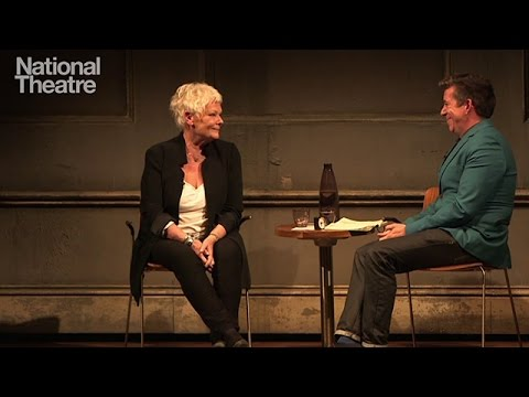 Judi Dench at the National Theatre