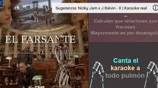 OZUNA FT ROMEO SANTOS. EL FARSANTE REMIX. KARAOKE REAL