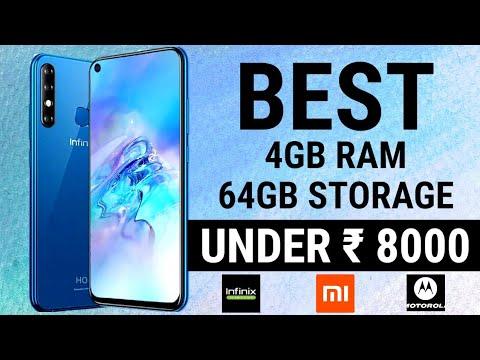 4GB RAM 64GB Storage Phones Under 8000 | Budget Phones | Best Entry Level Phone | Upto 8k Phones