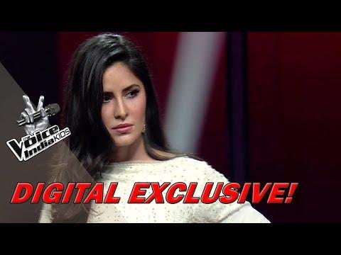 Katrina Kaif Imitates Salman Khan  Moment  The Voice India Kids  Season 2
