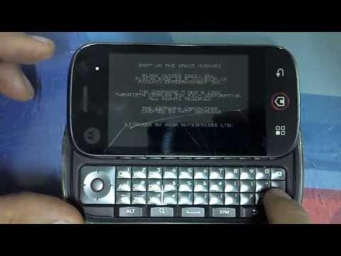 Motorola Dext Blur MB220 Android