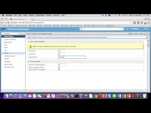 Configuration Score Spam Assasin Anti Spam/Anti Virus on Zimbra Mail Server
