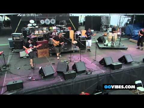 """Zach Deputy Band Performs """"Ain't Nothin' but a Groove"""" at Gathering of the Vibes Music Festival 2012"""