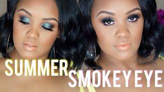 SUMMER GREEN SMOKEY EYE GRWM