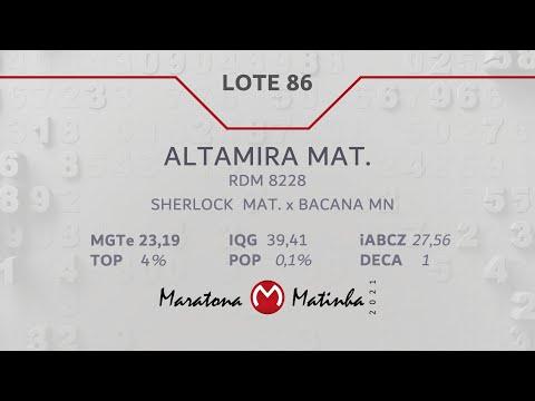 LOTE 86 Maratona Matinha