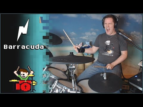 Noisestorm - Barracuda On Drums! -- The8BitDrummer