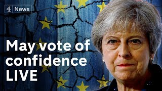 Watch live: Theresa May faces no confidence vote amid Brexit crisis - #ComeWhatMay