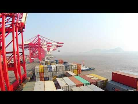 Shanghai port Timelapse