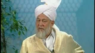 Liqa Ma'al Arab 7 October 1997 Question/Answer English/Arabic Islam Ahmadiyya