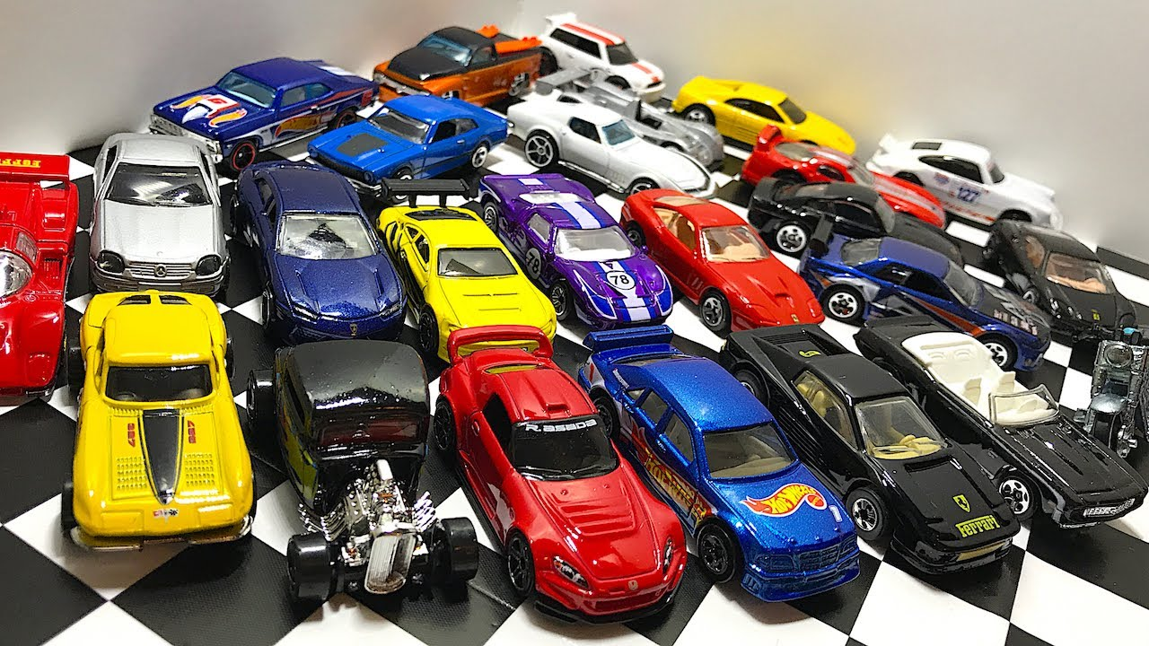 Opening Hot Wheels Muscle Cars Jdm And Exotic Toy Cars Youtube