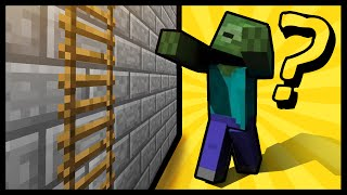 Can Zombies Climb Up Ladders In Minecraft?