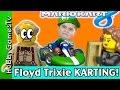 Mario Kart 8 Floyd + Trixie Race to the Finish Line! Wii U Hobbypig HobbyFrog HobbyGamesTV