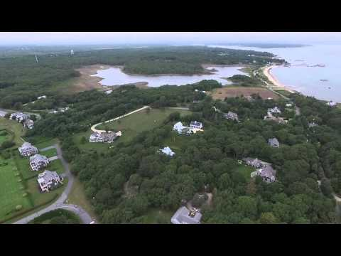 Colonel Green's Mansion At Round Hill Beach, MA Dji Phantom 3 Drone Aerial