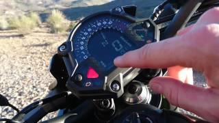 Smart-video en direct de notre essai Kawasaki Z900 : moteur et instrumentation