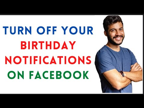 How To Hide Birthday Notification In Facebook | Turn Off Birthday Notification On Facebook