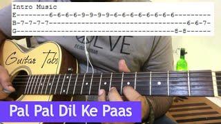 Pal Pal Dil Ke Pass Guitar Tabs - Guitar Lesson | Easy Guitar Lesson | Kishore Kumar Song
