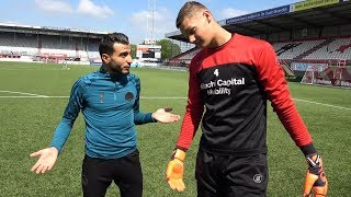 TOUZANI vs AJAX KEEPER [Kjell Scherpen]