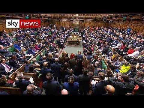 In full: MPs vote on Brexit alternatives