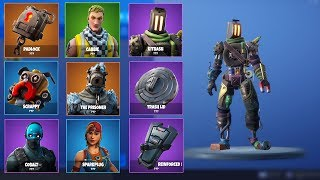 Fortnite - All v7.30 Skins + Back Blings! (Junk Skin, Prison Locket...)