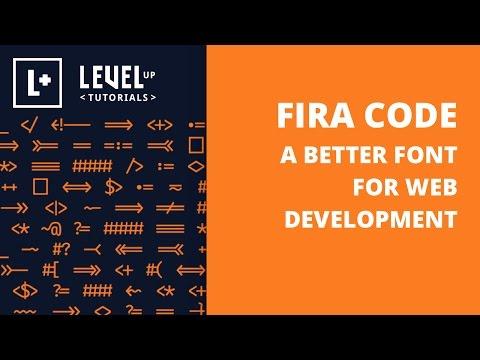 A Better Font For Web Development - Fira Code