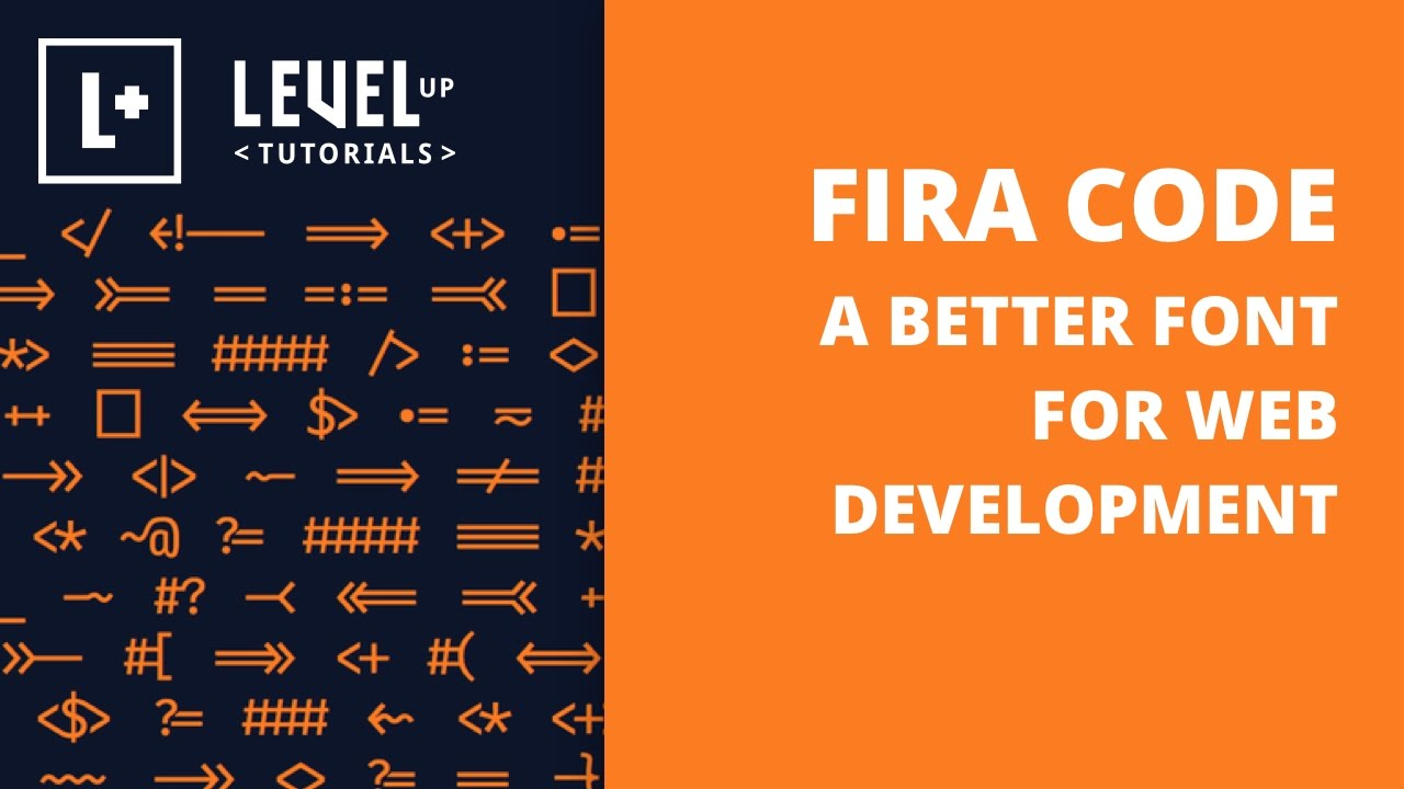 A Better Font For Web Development - Fira Code