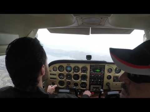 Cessna 172-Flying in Montenegro GoPro