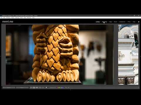 Adobe Lightroom Bug: Library module to Develop module