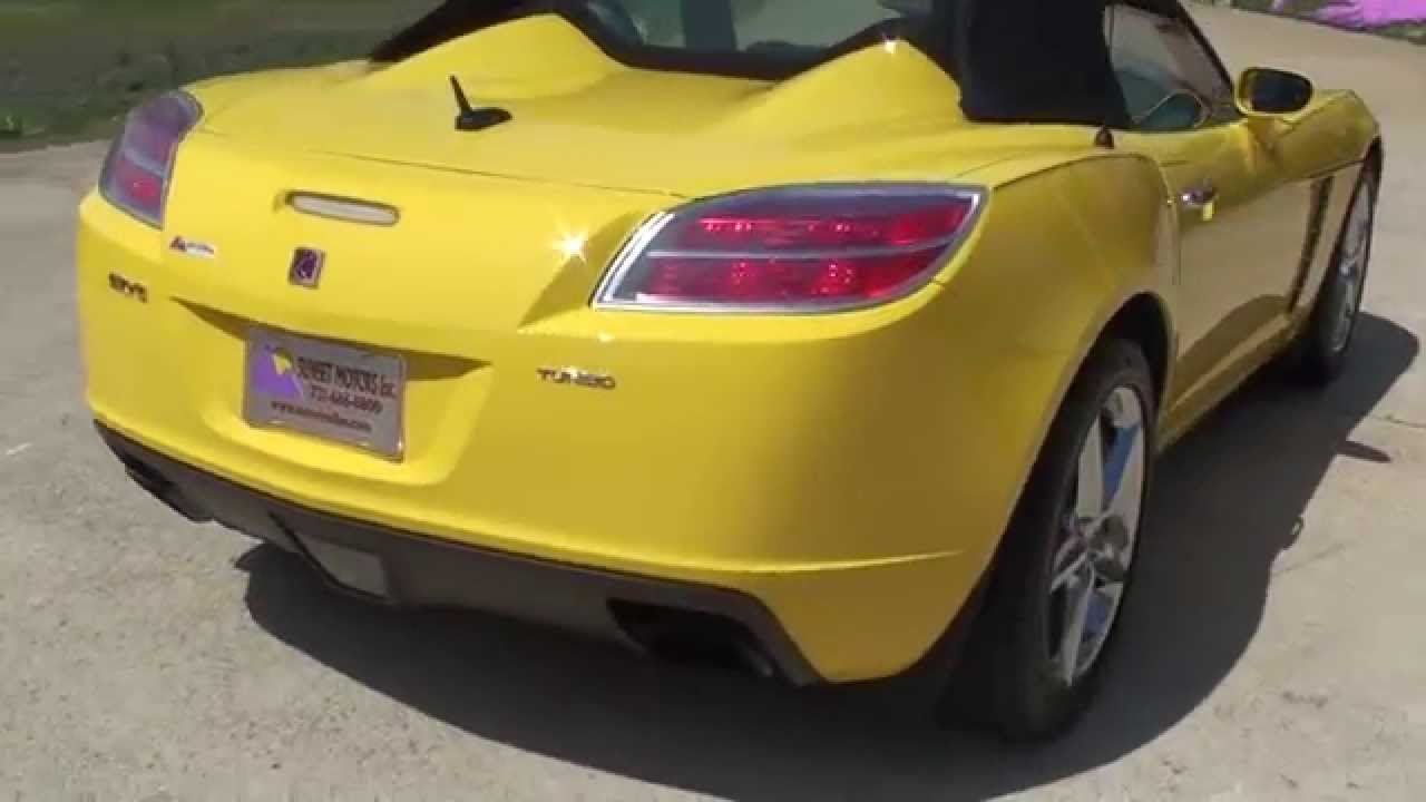 hd video 2008 saturn sky red line turbo for sale see www rh youtube com 2008 Saturn Sky Redline Engine 2013 Saturn Sky Roadster