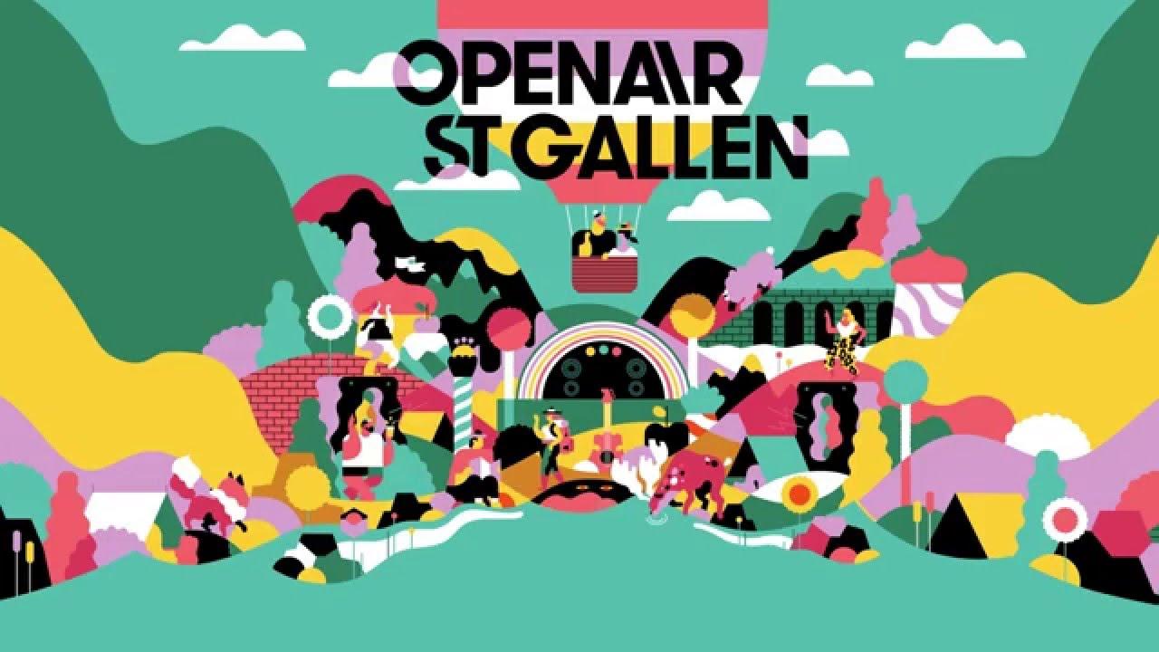 Line Up Openair St Gallen 2016 Youtube