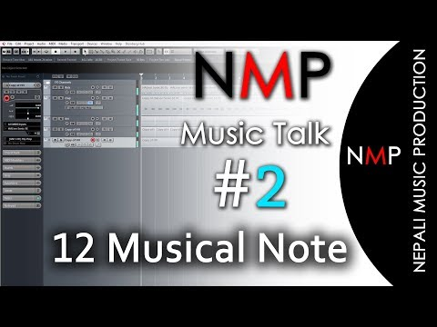 Music Talk 2  Introduction of 12 Musical Notes