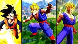 NEW FREE LEGENDS ROAD GOHAN! Dragon Ball Legends Teen Gohan Vs Goten Training Gameplay