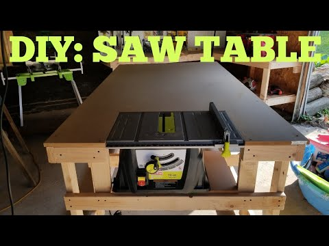 DIY: Saw Table Workstation ($85)