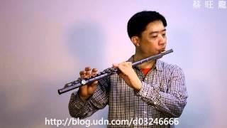 Laputa : Castle in the Sky ( 天空の城-載著你)/Flute/長笛吹奏自錄-...
