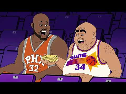 EJ's Neato Stat: Audio Toon - Chuck's Phoenix nacho story | Inside the NBA | NBA on TNT
