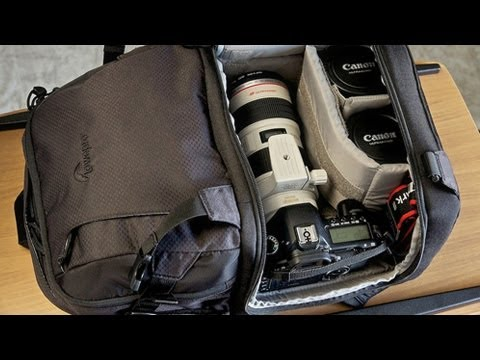 Lowepro 350 AW DSLR Video Fastpack Review