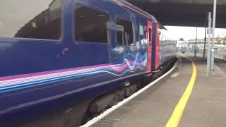 43003 fgw intercity departs Weston