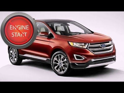 Ford Edge Update Open And Start  And Newer Keyless Start Models With A Dead Key Fob Battery