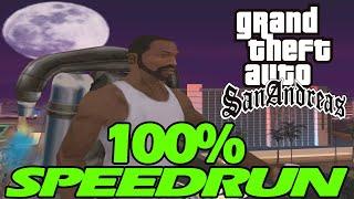 GTA San Andreas 100% Speedrun