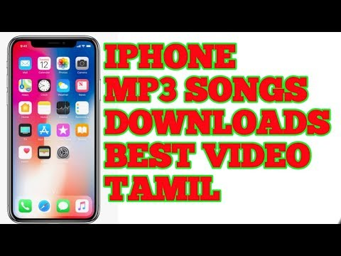 How To Iphone Download  Songs Tamil