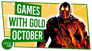 New Xbox Games With Gold | October 2019